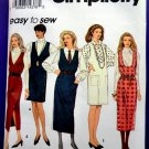 Simplicity Pattern # 8546 UNCUT Misses Pull-Over Jumper Two Lengths Size 12 14 16