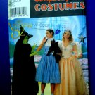 Simplicity Pattern # 7808 UNCUT Misses Costume Wizard of Oz Dorothy Witch Adult Size 6 8 10