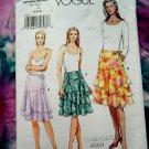 Vogue Pattern # 8082 UNCUT Misses Skirt Size 6 8 10