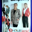 Simplicity Pattern # 8622 UNCUT Misses Jacket Length Variations Optional Lining Size 18 20 22