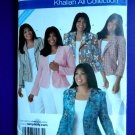 Simplicity Pattern # 4302 UNCUT Misses Woman's Jacket Size 18 20 22 24