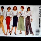 Butterick Pattern # 3087 UNCUT Misses Skirt Pants Size 12 14 16 Fast and Easy