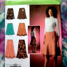 Simplicity Pattern # 4091 UNCUT Misses Flared Skirt Variations Size 6 8 10 12 14