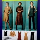 Simplicity Pattern # 2539 UNCUT Misses Jumper Jacket Pants Size 10 12 14 16 18