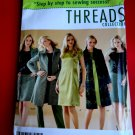 Simplicity Pattern # 4427 UNCUT Misses Dress Top Jacket or Coat Threads Size 14 16 18 20 22