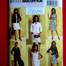 Butterick Pattern # 5333 UNCUT Misses Wardrobe Jacket Top Dress Skirt Pants Size 6 8 10 12