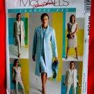 McCalls Pattern # 4394 UNCUT Misses Wardrobe Lined Jacket Top Dress Pants Size 12 14 16 18