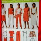 Simplicity Pattern # 4992 UNCUT Misses Wardrobe Jacket Top Dress Skirt Pants Size 10 12 14 16 18