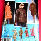Simplicity Pattern # 2812 UNCUT Misses Lined Coat Project Runway Size 14 16 18 20 22