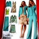 Simplicity Pattern # 4273 UNCUT Misses Wardrobe Jacket Top Pants Skirt Dress Size 8 10 12 14 16