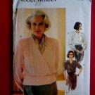 Vogue Pattern # 8603 UNCUT Misses Blouse Size 18 20 22