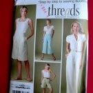 Simplicity Pattern # 3756 UNCUT Misses Pants Shorts Length Variations Size 20 22 24 26 28