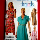Simplicity Pattern # 4171 UNCUT Misses Dress Threads Collection Size 16 18 20 22 24