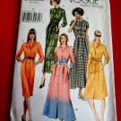 Vogue Pattern # 8028 UNCUT Misses Dress /Shirtdress Variations Size 20 22 24