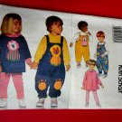 Butterick Pattern # 3646 UNCUT Children's Boy's Girls Top Leggings Jumpsuit Size 4 5 6