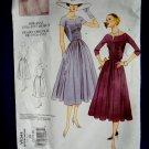 Vogue Pattern # 1044 Misses Retro 1956-57 Dress Size 18 20 22