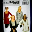 Butterick Pattern # 5390 UNCUT Misses Tunic Size XS Small Medium