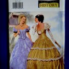 Butterick Pattern # P 412 UNCUT Misses Costume Southern Bell Gown /Dress Size 18 20 22