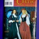 Simplicity Pattern # 0663 UNCUT Misses Scottish Lass Costume Skirt Bodice Size 14 16 18 20