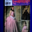 Simplicity Pattern # 4479 UNCUT Misses Costume Phantom of Opera Gown Civil War Size 14 16 18 20