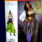 Simplicity Pattern # 2803 UNCUT Misses Costume Gypsy Witch Size 18 20 22 24