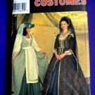Simplicity Pattern # 7756 UNCUT Misses Renaissance Costume Gown Size 16 18 20