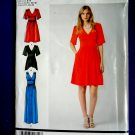 Simplicity Pattern # 1801 UNCUT Misses Dress Sleeve Length Variations Size 6 8 10 12 14