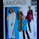 McCalls Pattern # 3705 UNCUT Misses Loose Fitting Tunic Top Dress / Caftan Pants Size Large XL
