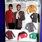 Simplicity Pattern # 9875 UNCUT Misses Jacket Size 6 8 10 12 14 Easy to Sew