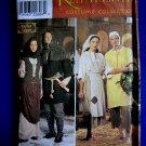 Simplicity Pattern # 8587 UNCUT Misses Mens Renaissance Costume Peasant XS Small Medium Large XL