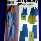 Simplicity Pattern # 9583 UNCUT Misses Top Pants Skirt Size 18 20 22 24