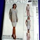 McCalls Pattern # 6946 UNCUT Misses Cardigan Vest Skirt Pants Size 10 12 14