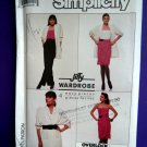 Simplicity Pattern # 8345 UNCUT Misses Wardrobe Skirt Pants Camisole Jacket Size 16 ONLY