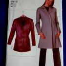 Vogue Pattern # 9910 UNCUT Misses Lined Jacket ---Long Short – Size Small Medium Large XL