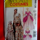 McCalls Pattern # 6139 UNCUT Misses Costume Colonial Dress Size Small Medium Large XL