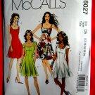 McCalls Pattern # 6027 UNCUT Misses Flared Dress Size 12 14 16 18 20