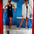 Vogue Pattern # 1569 UNCUT Misses Summer Dress Jacket Donna Karan NY Size 14 16 18