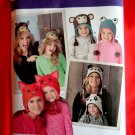 Simplicity Pattern # 1953 UNCUT Misses Girls Winter Hats Sizes Small Medium Large