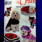 Simplicity Pattern # 8928 UNCUT Dogs Bed Small Medium Large Coat Hat
