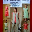 Butterick Pattern # 5501 UNCUT Misses Wardrobe Dress Tunic Pants Vest Size 8 10 12 14