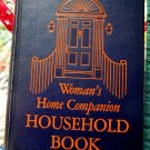 Vintage 1950 Woman's Home Companion Household Book Mid Century Decorating