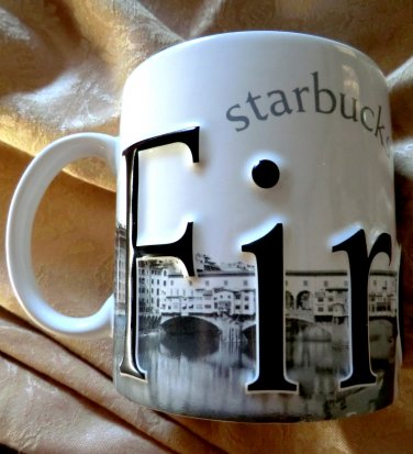 Italy Starbucks Firenze Italian Edition II Barista Collector Series Coffee Mug
