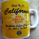 Starbucks Mug California Golden State Collage Series Coffee Cup 20oz Vintage 1999