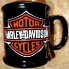 Harley Davidson 20 oz Ceramic Black Coffee Mug Biker/Motorcycle