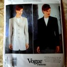 Vogue Pattern # 1820 UNCUT Misses Blazer or Jacket Anne Klein Size 6 8 10