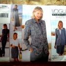 Vogue Pattern # 2090 UNCUT Misses Wardrobe by Tamotsu Dress Top Skirt Pants Size 8 10 12