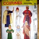 McCalls Pattern # 2340 UNCUT Child Costume Nativity Size Small 6 8