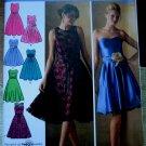 SIMPLICITY Pattern UNCUT # 4070 UNCUT Misses Special Occasion Dress Size 6 8 10 12 14