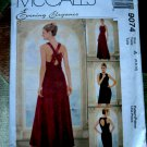 McCalls Pattern # 9074 UNCUT Misses Special Occasion Dress Size 6 8 10