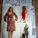 McCalls Pattern # 5484 UNCUT Misses Dress Stretch Knits Only Size 20 22 24 26 28